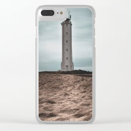 The Malariff Lighthouse Clear iPhone Case