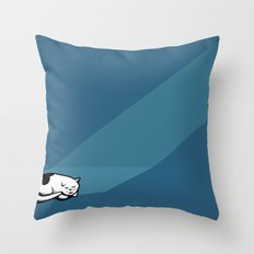 Prrr Throw Pillow