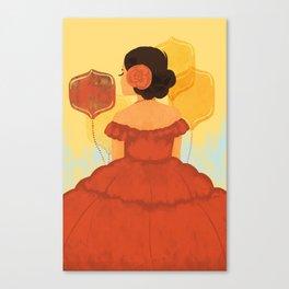 Senorita Canvas Print