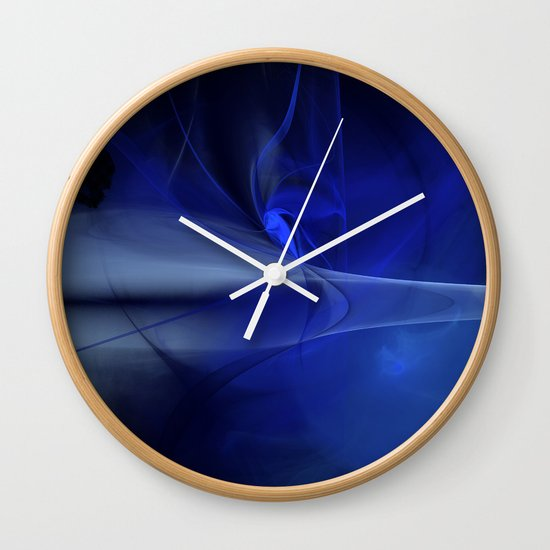 From The shadows to the Light Wall Clock