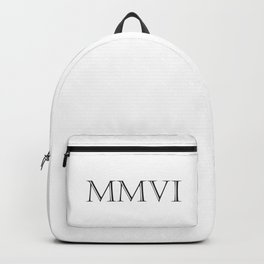 Roman Numerals - 2006 Backpack