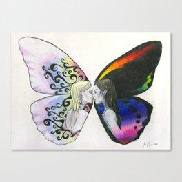 Rainbow Virgin  Canvas Print