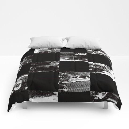 pattern car Comforters