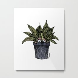 Mr. Tiny + Pot Metal Print