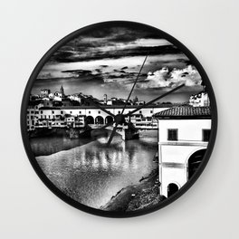 Ponte Vecchio, Florence, Italy Wall Clock