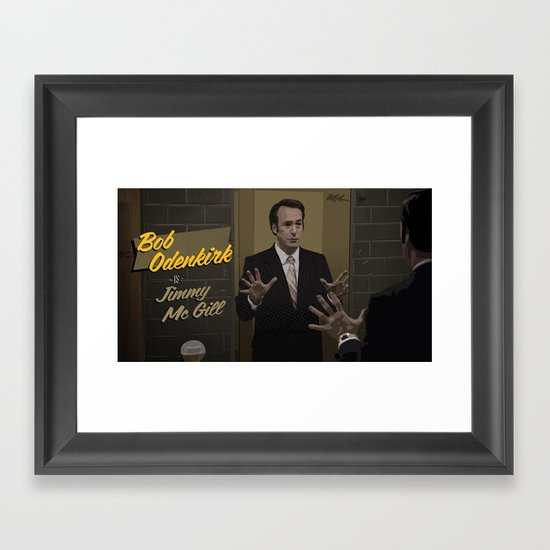 Jimmy McGill Framed Art Print
