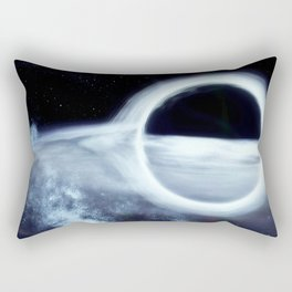 Gargantua, the Black Hole Rectangular Pillow