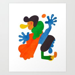 A Player Art Print