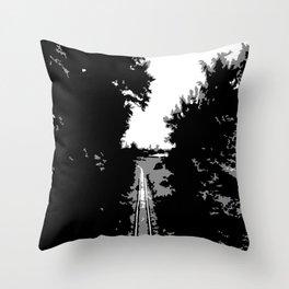 railway Throw Pillow