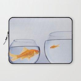 Big fish small fish Laptop Sleeve