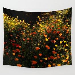 Beautiful garden flowers Wall Tapestry