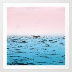 In the Middle of Ocean Art Print