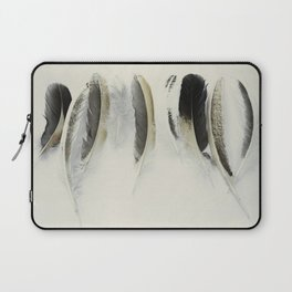 Flock of feathers Laptop Sleeve