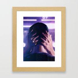 BLADE RUNNER Painting Poster   Kiss Scene Framed Art Print
