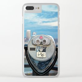 View Of Pittsburgh, Pennsylvania Clear iPhone Case