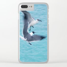 I'm Treading Air Here! Clear iPhone Case