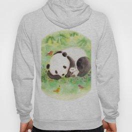 with mama panda Hoody