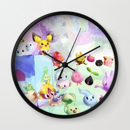 Baby Monsters Wall Clock