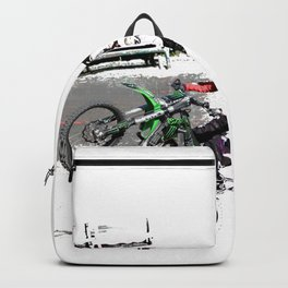 Making a Stand - Freestyle Motocross Rider Backpack