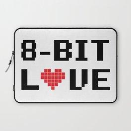 8 Bit Love Laptop Sleeve