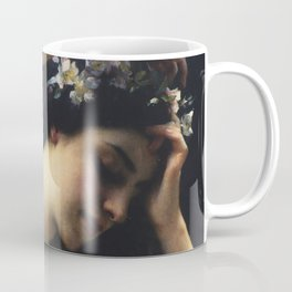 A Nymph In The Forest by Charles-Amable Lenoir Coffee Mug