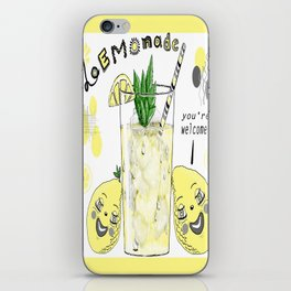You're Welcome, Love, The Lemons iPhone Skin