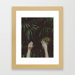 Jungle air Framed Art Print