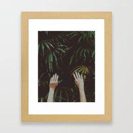 Jungle air Framed Art Print