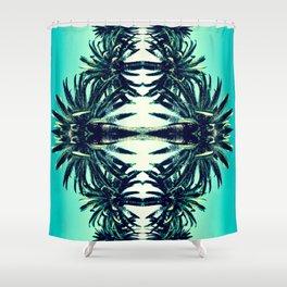 Palms in Cali Shower Curtain