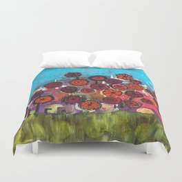 Bloomin Chaos Duvet Cover