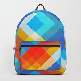 Retro Pattern 09 Backpack