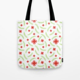 Happy floral pattern Tote Bag