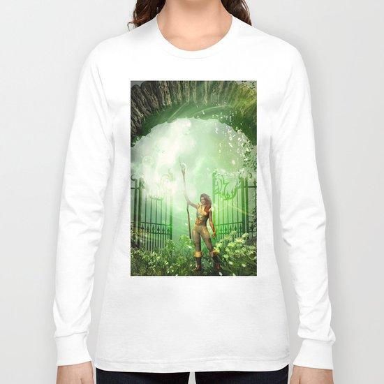 The gate Long Sleeve T-shirt