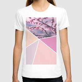 Soft Pastel Cherry Blossom T-shirt