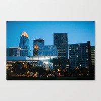 minneapolis Canvas Prints featuring Minneapolis by Ben Erickson