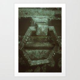 Door to eternity Art Print
