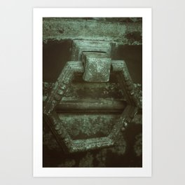 Door to eternity Art Print