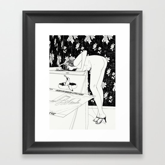 Martha Framed Art Print