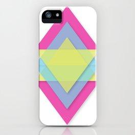 CMY Pattern iPhone Case