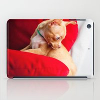 chihuahua iPad Cases featuring Chihuahua by Luca Spanu