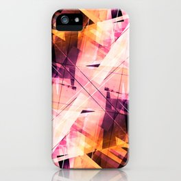 Sunbound - Geometric Abstract Art iPhone Case