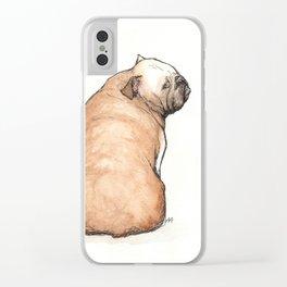 Bulldog Clear iPhone Case