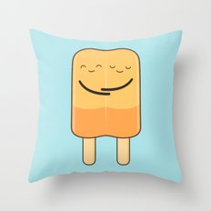 popsicles (stick together) Throw Pillow