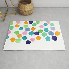 Abstract Painting Minimal Modern Art - Follow Your Heart no.6 Rug