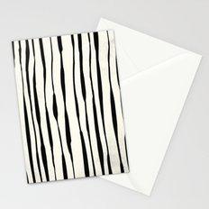 Retro Stripe Reverse Stationery Cards