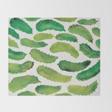Pickles Throw Blanket