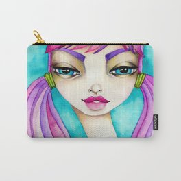 Original Watercolor IIIustration/Eve by JennyMannoArt Carry-All Pouch
