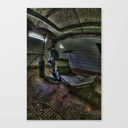 The real seat of horror Canvas Print