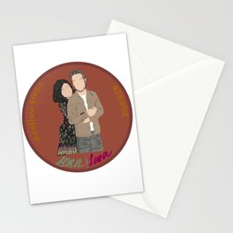 Sean Maguire & Lana Parrilla (The Happy Ending Convention II) Stationery Cards