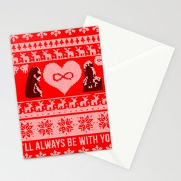 Clexa Christmas Stationery Cards